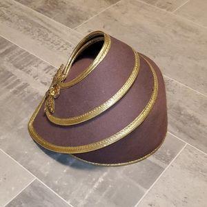 Vintage Doeskin Felt Bollman Hat